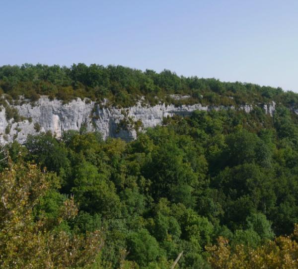 Combe de Vaux de roche dans le Val Suzon