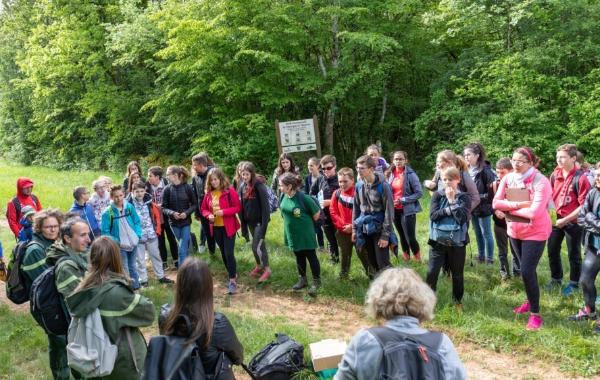 Journée pédagogique avec le collège de Selongey le 28 mai 2019