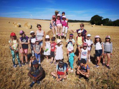 Sortie dans les champs – site des Tasselots